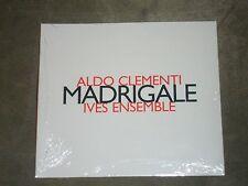 Aldo Clementi Ives Ensemble Madrigale (CD, Hatnow) sealed