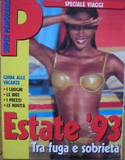 PANORAMA SPECIALE VIAGGI 1993 NAOMI CAMPBELL FOTO HUNTSINGER ITALIAN MAGAZINE