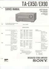 Sony-ta-ex50/ex90 - Service Manual grafico-b3198