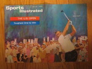 ARNOLD PALMER Sports Illustrated 6/15/64 Magazine No Label THE U.S. OPEN
