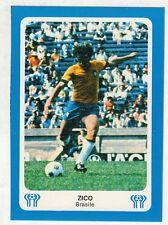 figurina Big Card - ARGENTINA 78 ED.GAZZETTA - BRASILE ZICO