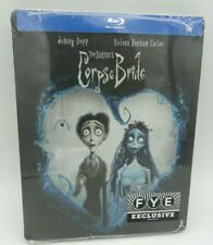 NEW - CORPSE BRIDE BLU RAY Steelbook FYE Limited Edition TIM BURTON'S SEALED