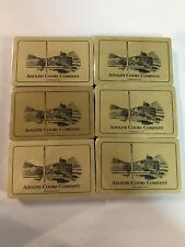 6-Vintage sealed Adolph Coors Company Playing Cards New! Free Shipping! 6 Decks