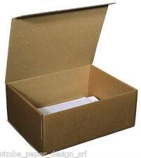 45x36x h30 ufficio cartone 2 onde  traslochi Mis 100  Scatole  5 FALDONI