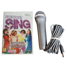 Everyone Sing + Logitech USB Microphone - Wii / Wii U - Music, Songs, Singing