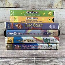 Lot Of 6 Care Bears VHS Care Bears Movie Journey To Joke Alot Care Bears Tested