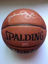 Dr J Julius Erving Autographed Basketball - Spalding I/O w/ COA