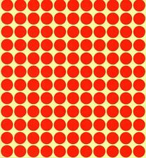 13mm Coloured Dots Round Stickers Sticky Adhesive Spot Circle Paper Labels BN UK