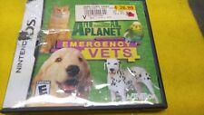 nintendo DS animal planet emergency vet  game