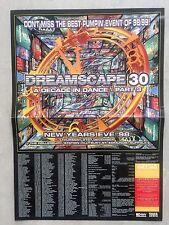 ESP DREAMSCAPE 30 A DECADE IN DANCE PART 3 RAVE FLYERS FLYER