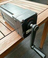 Handlademaschine Handgenerator Handlichtmaschine WW2 WK2 Handgenerator ungeprüft