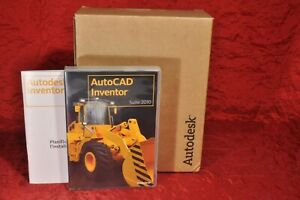 LOG012 Autodesk AUTOCAD Inventor 2010 Suite Retail with Perpetual License