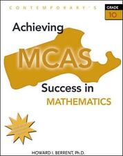 Achieving Mcas Success in Mathematics (High School Exit Exam Test Prep Fl & Tx)