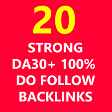 Backlinks Links HIGH DA30+ 100% Do Follow Get Seo Best PA Pr9 PR Google Website