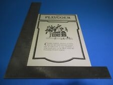 The Playgoer March 22, 1934 Forrest Theatre Annina MME. Maria Jeritza S6541