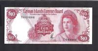 Cayman Islands p-3 , VF, 10 Dollars, 1972