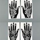 DIY India Mehndi Henna Stencil Temporary tattoo Templates Chic Body arts