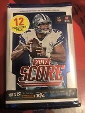 2017 Panini Score NFL Football 12 Card UNOPENED Pack
