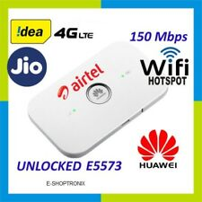 UNLOCKED AIRTEL HUAWEI E5573Cs-609  LTE 150 Mbps 3G 4G WIFI  POCKET ROUTER