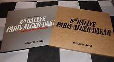 Mitsubishi 8 th e PARIS Alger Dakar 1986 4WD Pajero libro Slipcased Raro Rigal