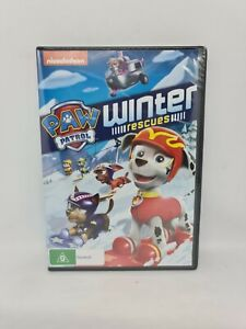 PAW PATROL WINTER RESCUES DVD Region 4 Brand New Sealed Free Shipping