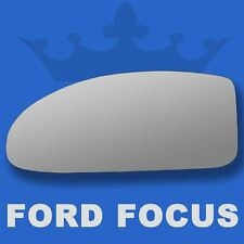 Ford Focus wing door mirror glass 1998-2005 Left Passenger side Spherical