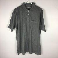 Cypress Club Mens Size Large Striped Polo Shirt Short Sleeve. V