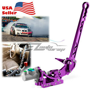 Purple Hydraulic Racing Hand E Brake Drift Rally Handbrake Aluminium Lever HB05