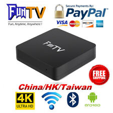 2018 Newest 2nd Gen of FUNTV TV Box Chinese HK Taiwan Live TV and VOD Bluetooth