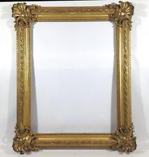 133 x 109cm pintura marco de fotos ANTIGUO Frame Barroco Rococó oro