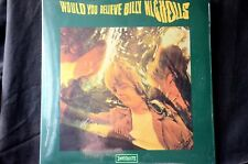 "Billy Nicholls Would You Believe Expanded Ltd Reissue 2 x 12"" vinyl LP New"