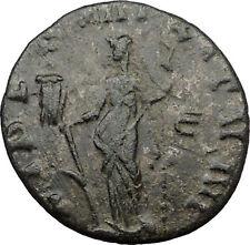 Claudius II Gothicus 268AD Ancient Roman Coin Fides Trust w Vexillum  i31621