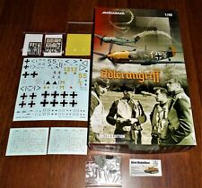 WWII german Me BF109E Adlerangriff Dual Combo 1:48 Eduard 11144 limited