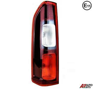 Fit Renault Traffic Rear Light Lamp Back Lens Passenger Side Left N/S 14 - 2019