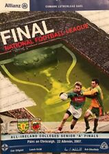 2007 NFL FINAL MAYO V DONEGAL & ALL IRELAND HURLING AND FOOTBALL COLLEGES FINALS