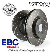 EBC GD Front Brake Discs for Fiat Grande Punto 1.9TD 120bhp (06-09) 284mm