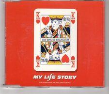 (HI489) The King of Kissingdom, My Life Story - 1997 DJ CD