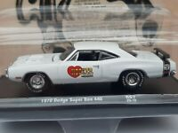 M2 machines . Echelle 1/64  . 1970  Dodge super  bee 440.  Neuf sous blister