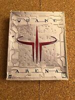 QUAKE 3:ARENA -PC CD-ROM GAME- 1999 ORIGINAL BIG BOX