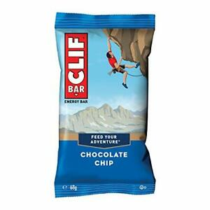 Clif Bar Energy Bars, Source of Plant Based Protein, Vitamin B12 & B6, Chocolate