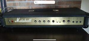 Rare Autographed Marshall Lead 100 Guitar Amplifier 1976 Jim Marshall Works