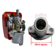 High Performance Carburetor for 2 Stroke 80cc Bicycle Motorized Engine Kit Red