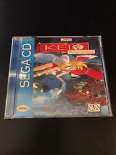 CUSTOM Keio Flying Squadron Sega CD Replacement Case - NO DISC