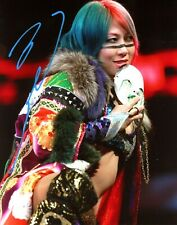 WWE ASUKA HAND SIGNED 8X10 AUTOGRAPHED PHOTO WITH PICTURE PROOF AND COA 30
