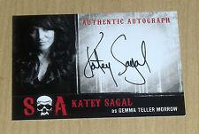 2015 Cryptozoic SONS of ANARCHY seasons 6/7 autograph Katey Sagal GEMMA TELLER