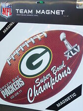 Green Bay Packers, Super Bowl 45 Champions, Car Magnet