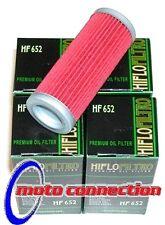 Hiflo hf652 Filtros De Aceite-Pack De 4 Ktm Sxf Exc Xc R F W SMR 350 450 2007-2012
