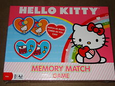 Hello Kitty Memory Match Game-New In Package