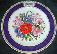 1985 Chelsea Flower Show Plate  By Spode.  Royal Horticultural Society, Perfect