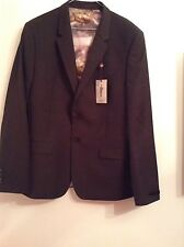 BNWT 100% Auth By Ted Baker, Beautiful Endurance Suit Jacket. 44R Rrp £349